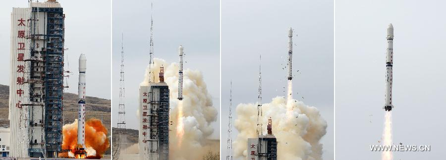 La Chine lance un satellite de télédétection