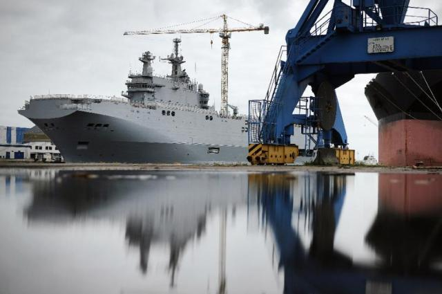 Accord d'indemnisation entre la France et la Russie sur l'annulation du contrat des Mistral