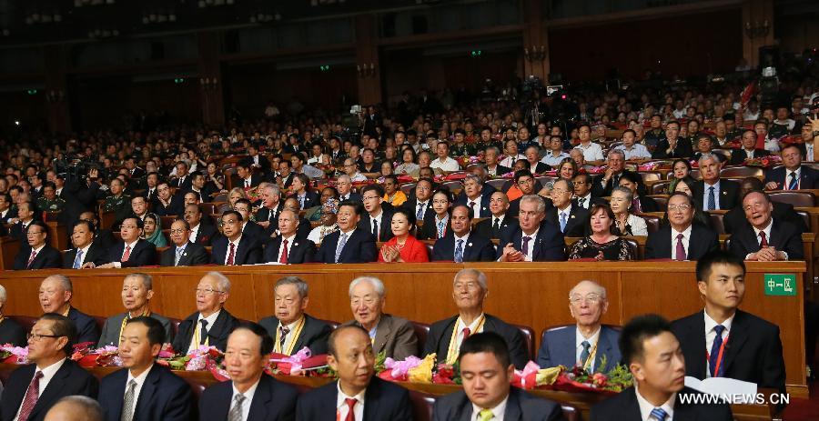 Journée de la Victoire : gala culturel en soirée à Beijing en ...