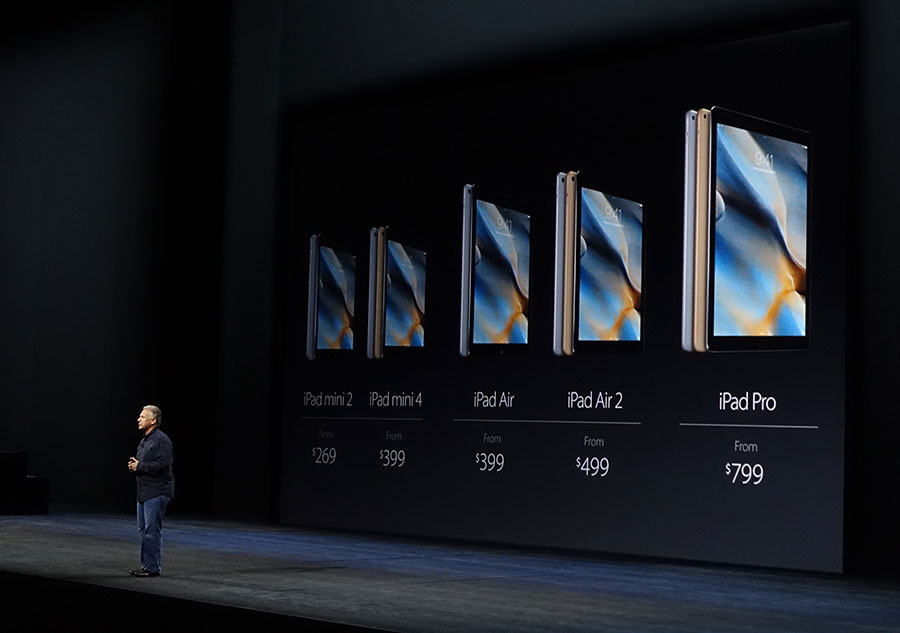 Apple annonce un iPad d'Apple plus grand