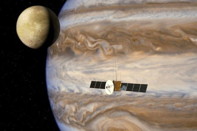 Accord Airbus-ESA pour la construction d'une sonde d'exploration de Jupiter