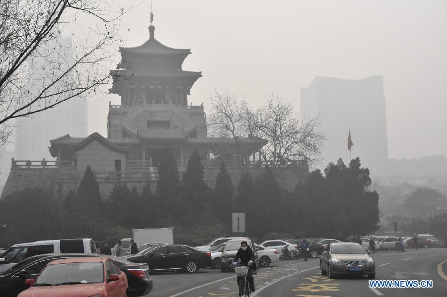 La Chine renouvelle son alerte orange au brouillard