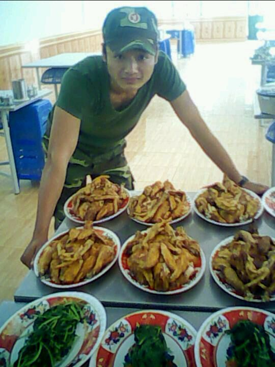 Asie : des cantines militaires insolites