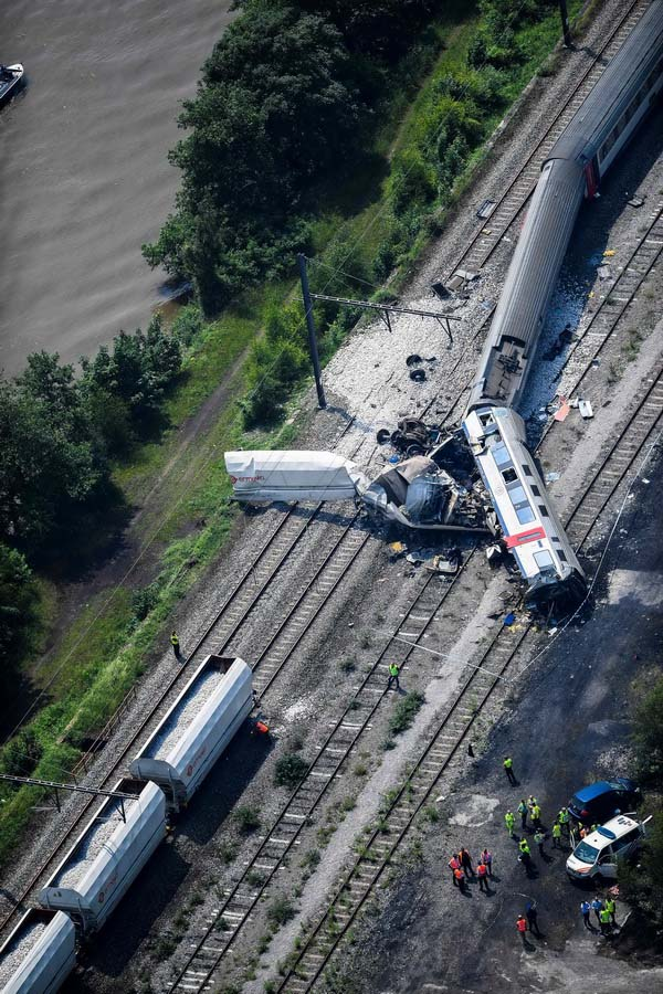 Accident de train en Belgique, 3 morts et plus de 40 blessés