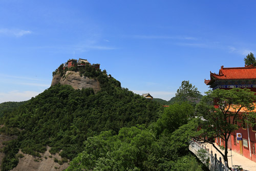 Le grand Temple Xiangshan de Tongchuan