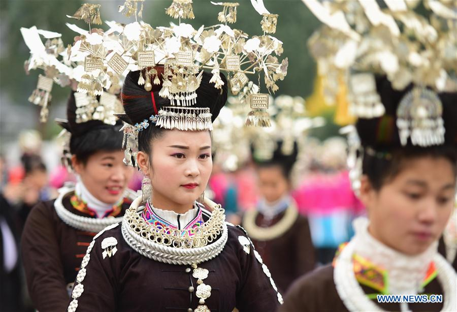 Chine : festival traditionnel du groupe ethnique Miao