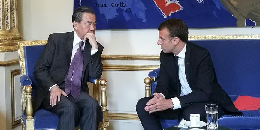 Le président fran?ais Emmanuel Macron a déclaré mercredi que le partenariat stratégique global entre la France et la Chine devrait jouer un r?le de premier plan face à la situation internationale compliquée à l'heure actuelle.