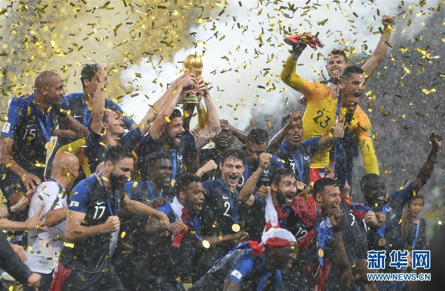 Coupe du Monde : vingt ans après, les Bleus décrochent leur seconde étoile