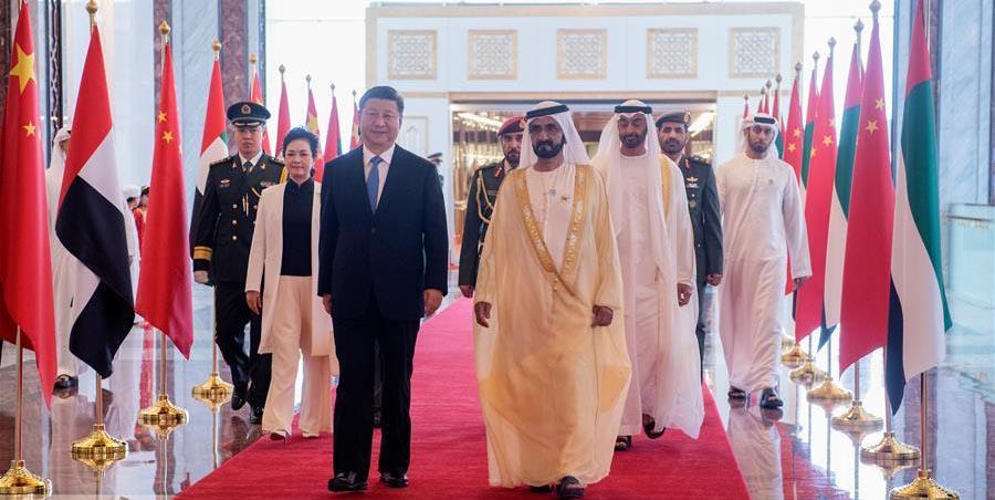Le président chinois Xi Jinping est arrivé jeudi à Abou Dhabi pour une visite d'Etat aux Emirats arabes unis (EAU). Il s'agit de la première visite d'Etat d'un président chinois dans ce pays arabe depuis 29 ans.