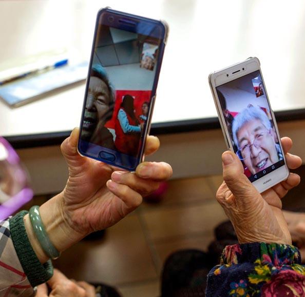 Les seniors chinois nouveaux moteurs de la transformation digitale