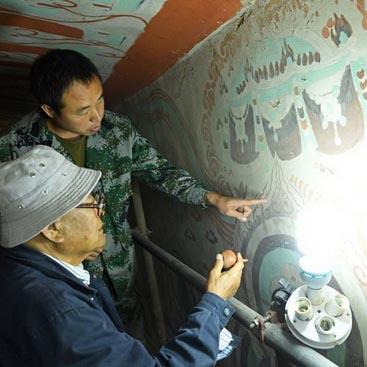 60 ans au service de la restauration des grottes de Mogao