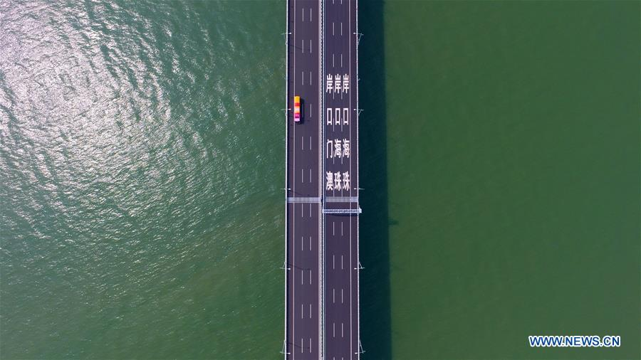 Chine : le plus long pont maritime du monde ouvert à la circulation