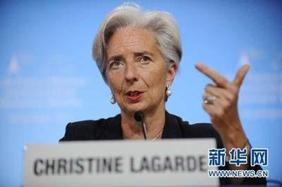 Christine Lagarde en visite en Chine pour la course à la direction du FMI