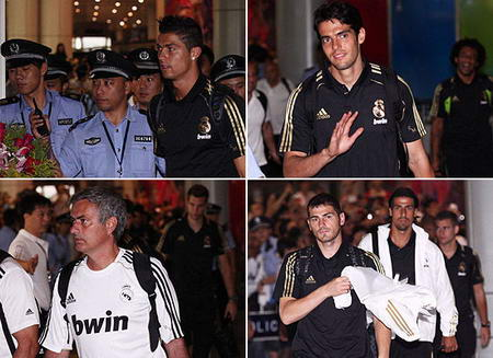 La tournée en Chine du Real Madrid 2011