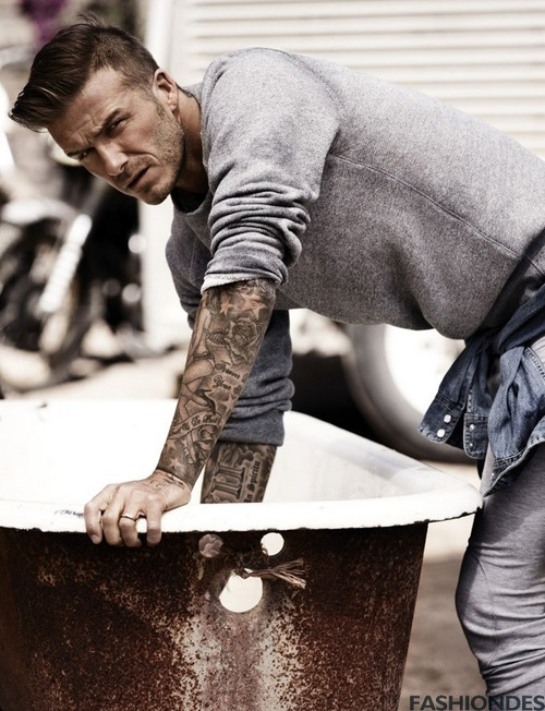 David Beckham en couverture du magazine Esquire UK (3)