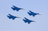 Russkie Vitiazi à l' Airshow China 2012
