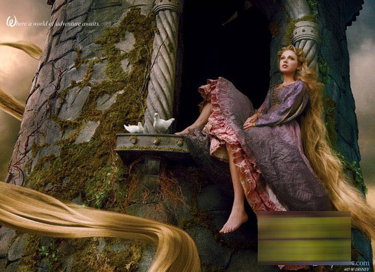 Taylor Swift se transforme en Princesse Raiponce