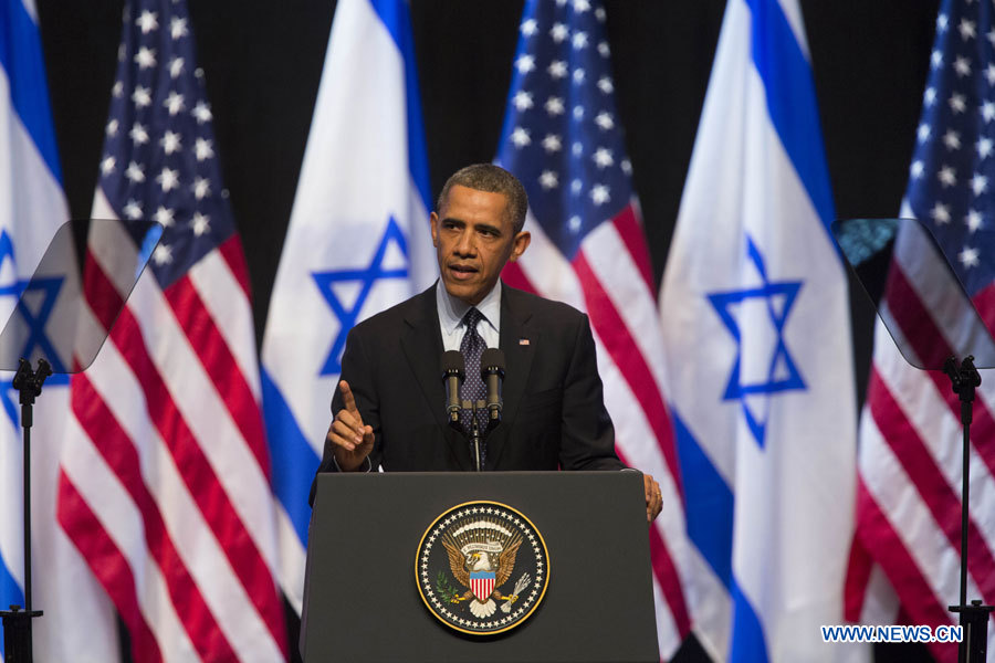 Israël doit cesser la construction de colonies : Obama
