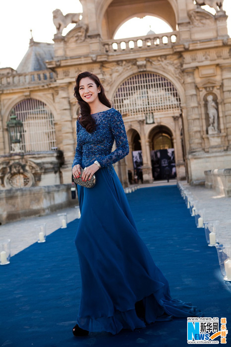 La comédienne Zhang Yuqi à Chantilly (7)
