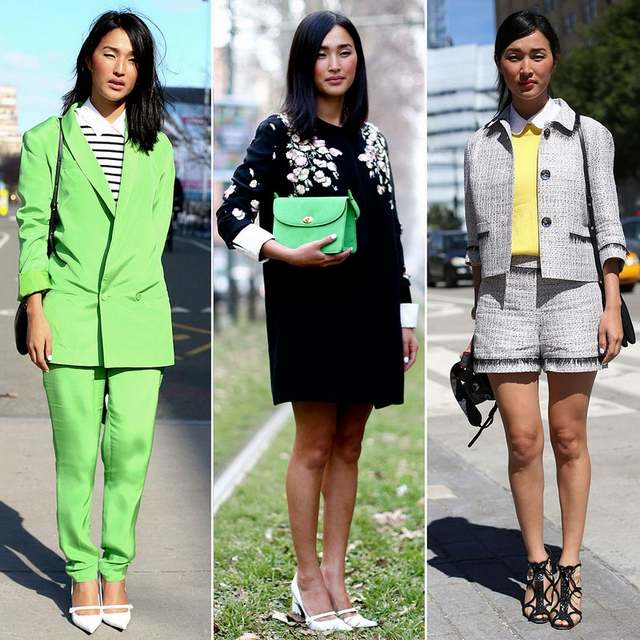 Les fashionistas de la Fashion Week de New York