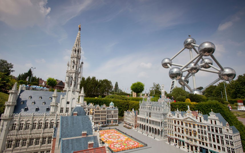 Le parc Mini-Europe, Belgique